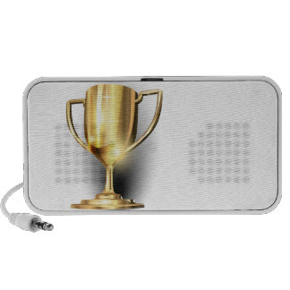 Gold Trophy iPod Speakers