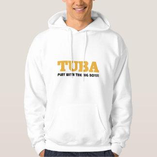 Gold Tuba Attitude Gift Sweatshirt