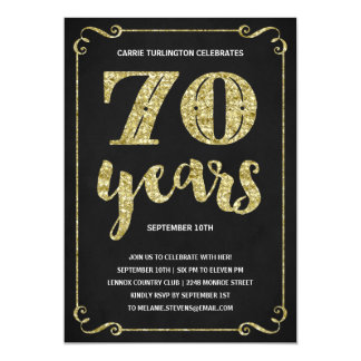 70Th Birthday Party Invites was nice invitations sample