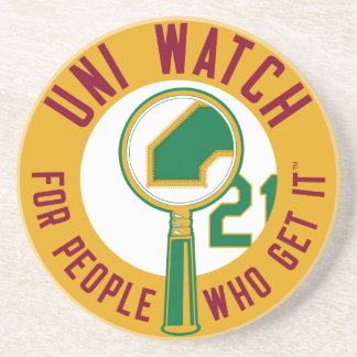 Gold Uni Watch Coaster