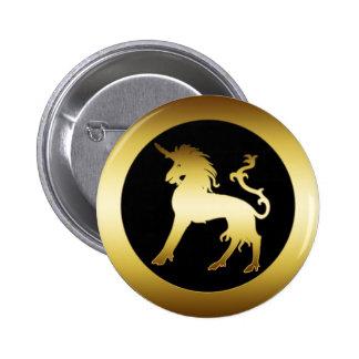 GOLD UNICORN PIN