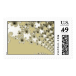 Gold Urchins Postage Stamp