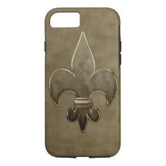 Gold Velvet Saints Fleur De Lis iPhone 8/7 Case