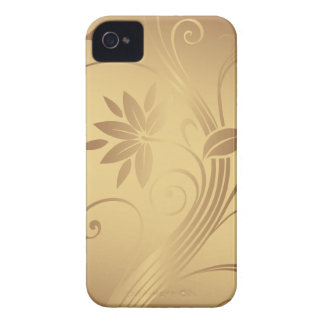 Gold Vines Case-Mate iPhone 4 Cases