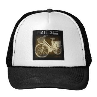 Gold Vintage Bike Ride Hat