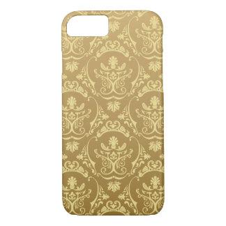 gold,vintage,damasks,floral,chic,elegant,trendy,gi iPhone 7 case