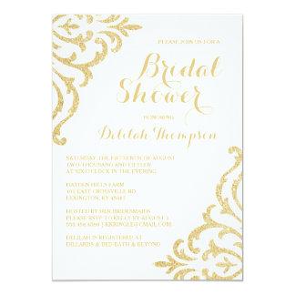 Elegant Bridal Shower Invitations Announcements Zazzle