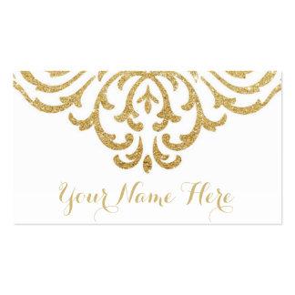 Gold Vintage Glam Elegant Wedding Place Card