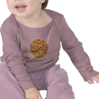 Gold & Violet Easter Egg T-shirt