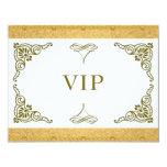 Gold VIP invitation