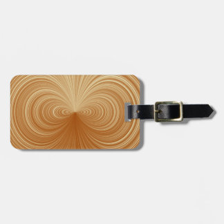 Gold Vortex Travel Bag Tags