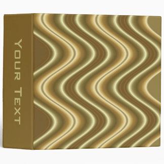 gold wave binder