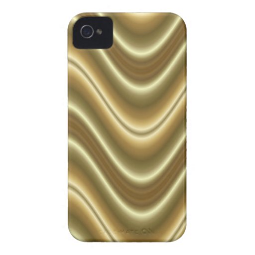 gold wave Case-Mate iPhone 4 cases