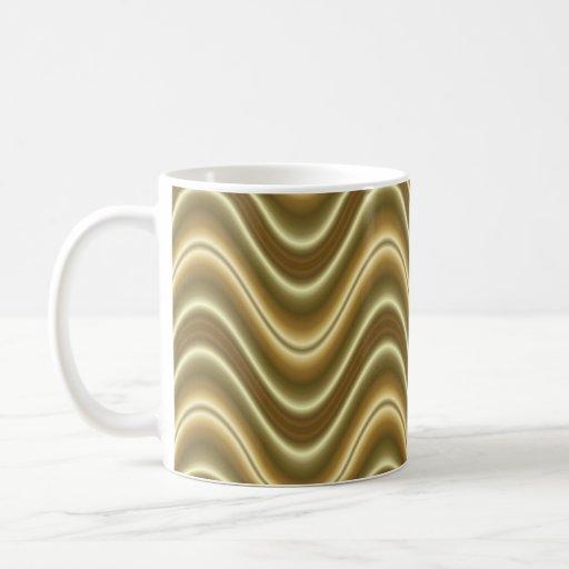 Gold Wave Coffee Mug Zazzle