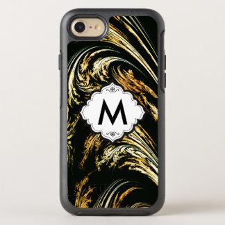 Gold Wave Fine Fractal Art OtterBox Symmetry iPhone 7 Case