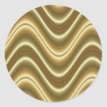 gold wave stickers