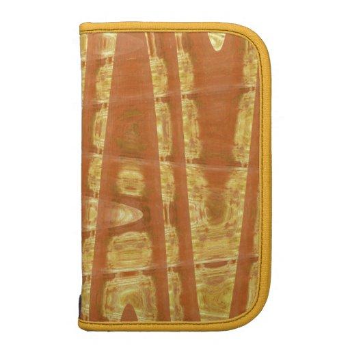 gold waves folio planner