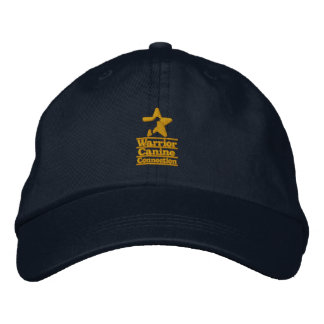 Gold WCC embroidered navy hat