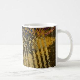 Gold Weave Coffee Mug
