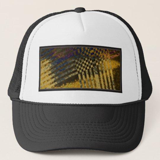 Gold Weave Trucker Hat