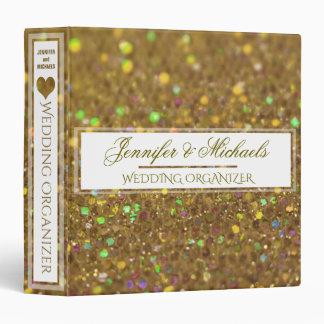 Gold Wedding Organizer / Planner Binder