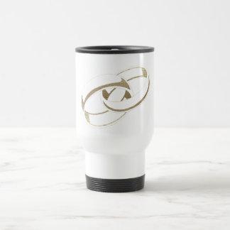 Gold Wedding Rings Art Gifts Travel Mug