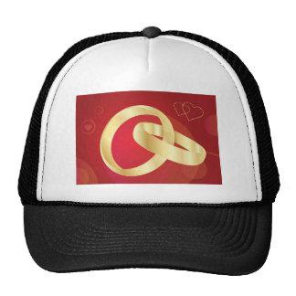 Gold-Wedding-Rings.jpg GOLD GOLDEN WEDDING RINGS Trucker Hat