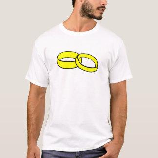 Gold Wedding Rings T-Shirt