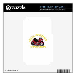 Gold Wing iPod Touch 4G Skin