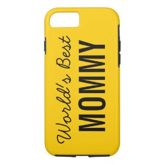 Gold World's Best Mommy Custom iPhone 7 Case