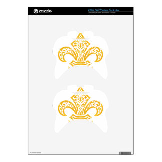 GOLD XBOX 360 CONTROLLER DECAL