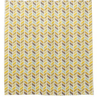Brown And Gold Shower Curtains Zazzle