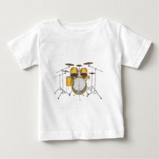 Gold / Yellow Drum Kit: Baby T-Shirt