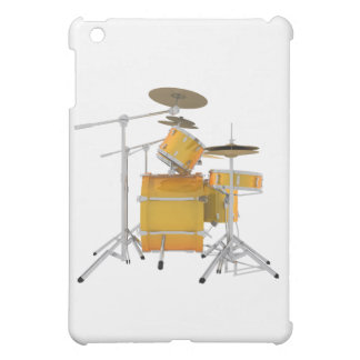 Gold / Yellow Drum Kit: Case For The iPad Mini