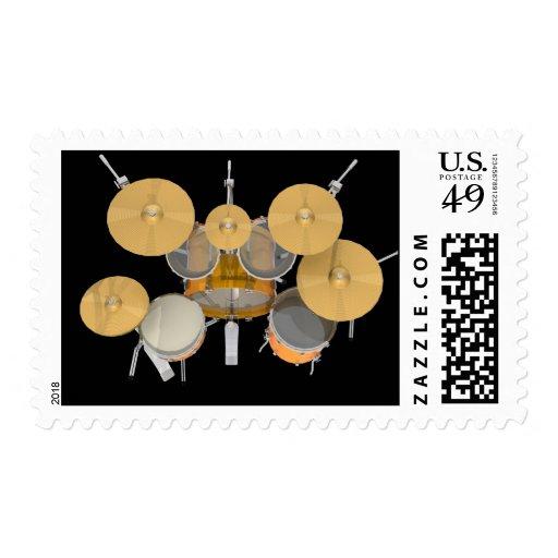 Gold / Yellow Drum Kit: Postage