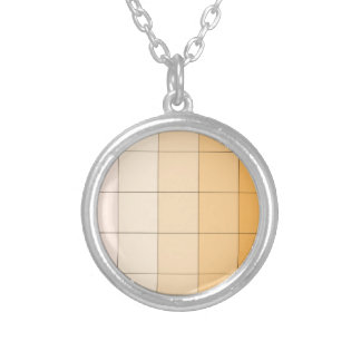 Gold Yellow Square Ombre Customizable 2 Custom Necklace