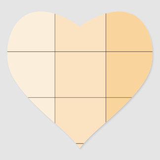 Gold Yellow Square Ombre Customizable 2 Stickers