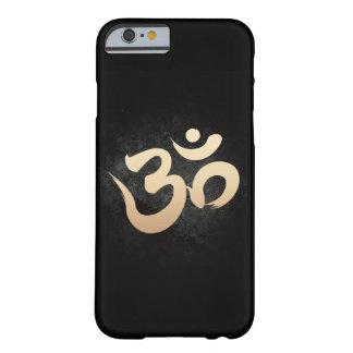 Gold Yoga Om Symbol Dark iPhone 6 Case