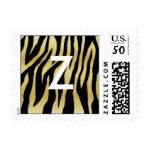 Gold Zebra Postage