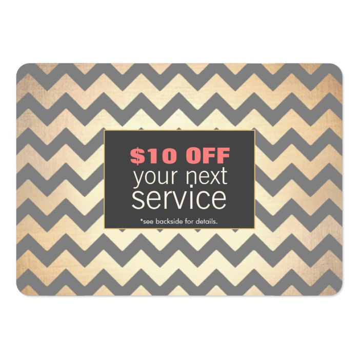 Gold Zig Zags Hair Salon and Spa Discount Coupon