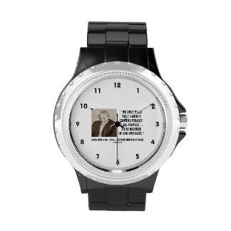 Golda Meir a ser amos de nuestra propia cita del Relojes De Pulsera