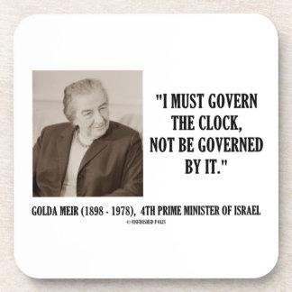 Golda Meir I debe gobernar la cita del reloj Posavaso