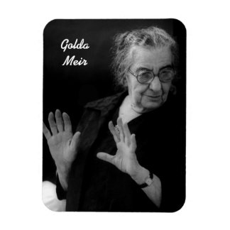 Golda Meir Imán Foto Rectangular