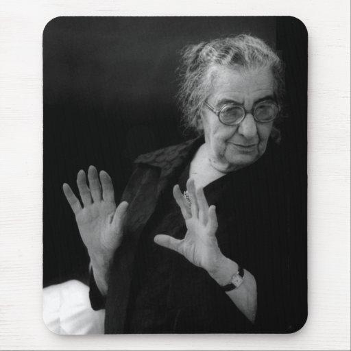 Golda Meir, Israeli Prime Minister Mouse Pad