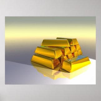 Goldbars Poster