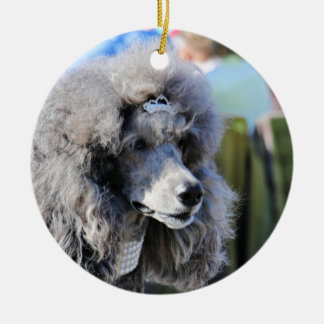 Goldberg - Chanel - Standard Poodle Ceramic Ornament