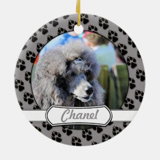 Goldberg - Chanel - Standard Poodle Ceramic Ornament