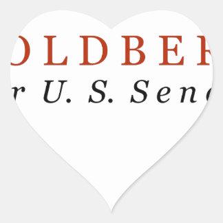 Goldberg for US Senate Heart Sticker