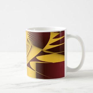 GoldBrown65432Frac Coffee Mug