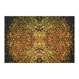 GoldBush Tant Canvas Print